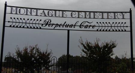 CEMETERY, SIGN - Montague County, Texas | SIGN CEMETERY - Texas Gravestone Photos