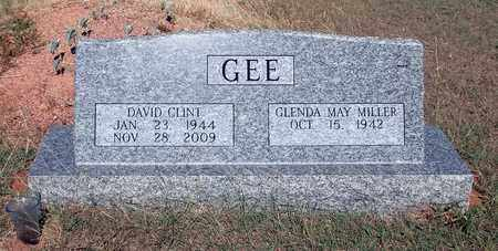 GEE, DAVID CLINT - Montague County, Texas | DAVID CLINT GEE - Texas Gravestone Photos