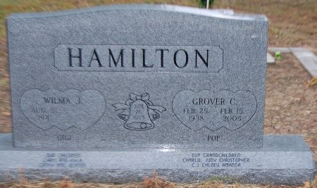HAMILTON, GROVER C. - Montague County, Texas | GROVER C. HAMILTON - Texas Gravestone Photos