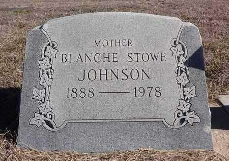 JOHNSON, BLANCHE LAURA - Montague County, Texas | BLANCHE LAURA JOHNSON - Texas Gravestone Photos