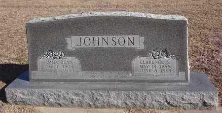 JOHNSON, CLARENCE SYLVESTER - Montague County, Texas | CLARENCE SYLVESTER JOHNSON - Texas Gravestone Photos