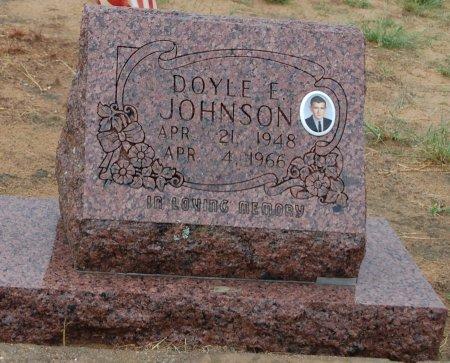 JOHNSON, DOYLE E - Montague County, Texas | DOYLE E JOHNSON - Texas Gravestone Photos