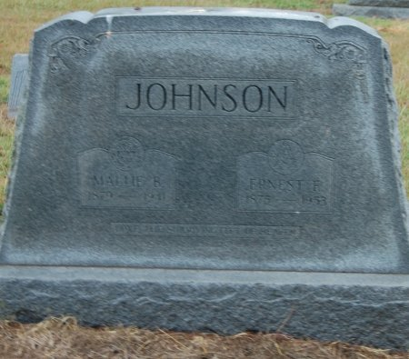 JOHNSON, ERNEST E - Montague County, Texas | ERNEST E JOHNSON - Texas Gravestone Photos