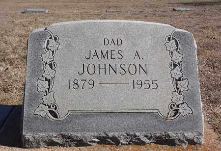 JOHNSON, JAMES ARTHUR - Montague County, Texas | JAMES ARTHUR JOHNSON - Texas Gravestone Photos