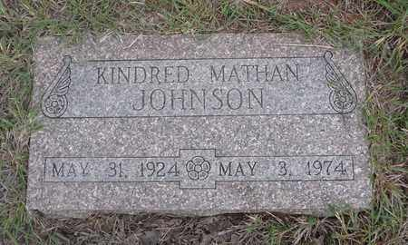 JOHNSON, KINDRED MATHAN - Montague County, Texas | KINDRED MATHAN JOHNSON - Texas Gravestone Photos