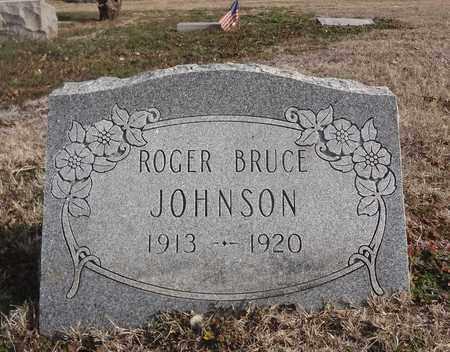 JOHNSON, ROGER BRUCE - Montague County, Texas | ROGER BRUCE JOHNSON - Texas Gravestone Photos