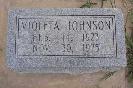 JOHNSON, VIOLETTA - Montague County, Texas | VIOLETTA JOHNSON - Texas Gravestone Photos