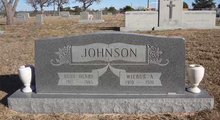 JOHNSON, WILBUR A - Montague County, Texas | WILBUR A JOHNSON - Texas Gravestone Photos