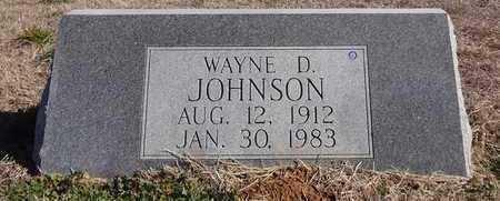 JOHNSON, WAYNE DOUGLAS - Montague County, Texas   WAYNE DOUGLAS JOHNSON - Texas Gravestone Photos