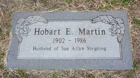 MARTIN, HOBART E - Montague County, Texas | HOBART E MARTIN - Texas Gravestone Photos