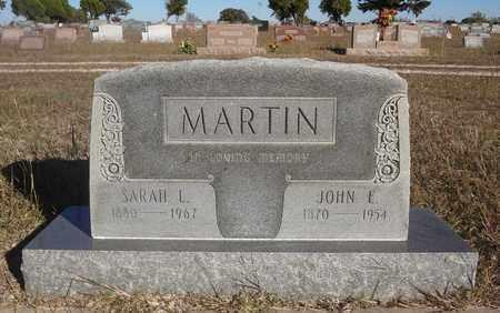 MARTIN, SARAH L - Montague County, Texas   SARAH L MARTIN - Texas Gravestone Photos