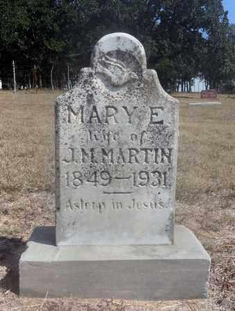 MARTIN, MARY E. - Montague County, Texas | MARY E. MARTIN - Texas Gravestone Photos