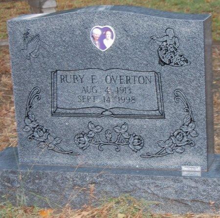 OVERTON, RUBY E. - Montague County, Texas | RUBY E. OVERTON - Texas Gravestone Photos