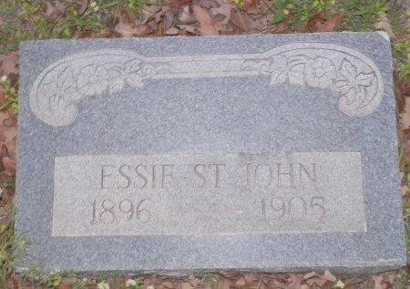 ST. JOHN, ESSIE - Montague County, Texas | ESSIE ST. JOHN - Texas Gravestone Photos