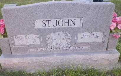 ST. JOHN, GRETA GAY - Montague County, Texas | GRETA GAY ST. JOHN - Texas Gravestone Photos