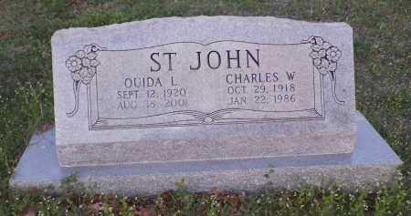 SANDERS ST. JOHN, OUIDA LEE - Montague County, Texas | OUIDA LEE SANDERS ST. JOHN - Texas Gravestone Photos