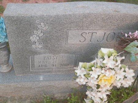 ST JOHN, PATSY C. - Montague County, Texas   PATSY C. ST JOHN - Texas Gravestone Photos