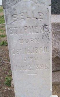 STEPHENS, BELLE - Montague County, Texas | BELLE STEPHENS - Texas Gravestone Photos