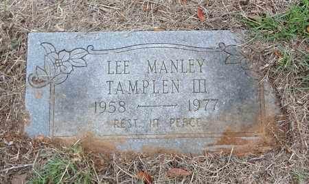 TAMPLEN, III, LEE MANLEY - Montague County, Texas | LEE MANLEY TAMPLEN, III - Texas Gravestone Photos
