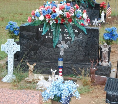 USELTON, LESLIE SHANE - Montague County, Texas | LESLIE SHANE USELTON - Texas Gravestone Photos