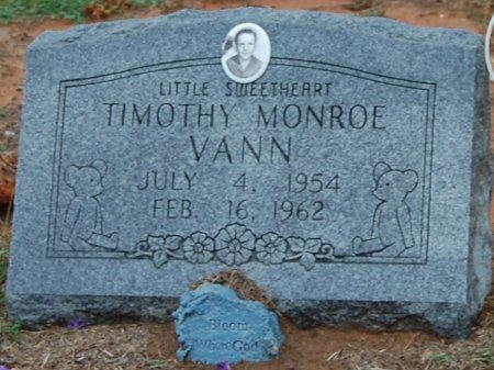 VANN, TIMOTHY MONROE - Montague County, Texas | TIMOTHY MONROE VANN - Texas Gravestone Photos