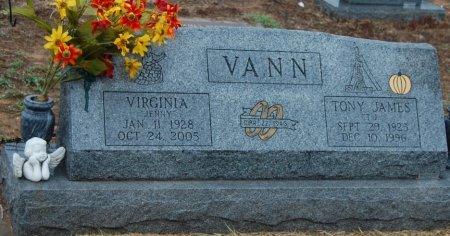 "VANN, VIRGINIA ""JENNY"" - Montague County, Texas | VIRGINIA ""JENNY"" VANN - Texas Gravestone Photos"