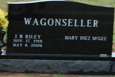 MCGEE WAGONSFELLER, MARY INEZ - Montague County, Texas | MARY INEZ MCGEE WAGONSFELLER - Texas Gravestone Photos