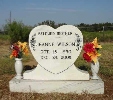 WILSON, JEANNE - Montague County, Texas | JEANNE WILSON - Texas Gravestone Photos