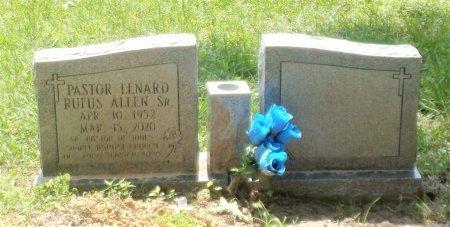 ALLEN, SR., LENARD RUFUS - Montgomery County, Texas   LENARD RUFUS ALLEN, SR. - Texas Gravestone Photos