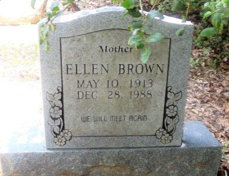BROWN, ELLEN - Montgomery County, Texas | ELLEN BROWN - Texas Gravestone Photos