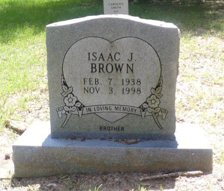 BROWN, ISAAC JESSE - Montgomery County, Texas   ISAAC JESSE BROWN - Texas Gravestone Photos