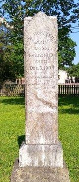 ROBINSON SR., JOHN WESLEY - Montgomery County, Texas | JOHN WESLEY ROBINSON SR. - Texas Gravestone Photos