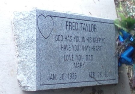 TAYLOR, FRED - Montgomery County, Texas   FRED TAYLOR - Texas Gravestone Photos