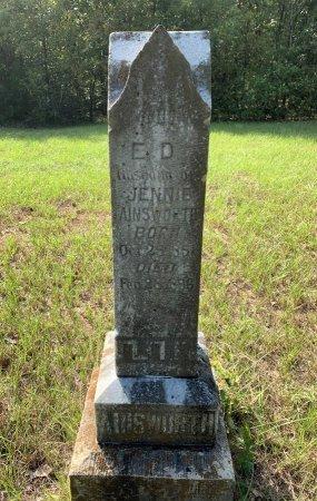 AINSWORTH, E D - Morris County, Texas | E D AINSWORTH - Texas Gravestone Photos