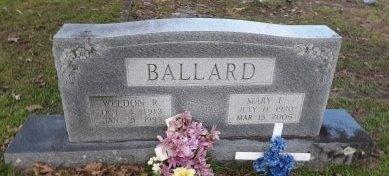 BALLARD, MARY E - Morris County, Texas   MARY E BALLARD - Texas Gravestone Photos