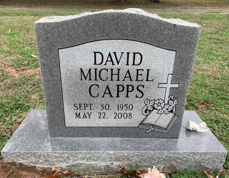 CAPPS, DAVID MICHAEL - Morris County, Texas | DAVID MICHAEL CAPPS - Texas Gravestone Photos
