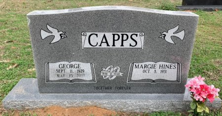 CAPPS, GEORGE - Morris County, Texas | GEORGE CAPPS - Texas Gravestone Photos