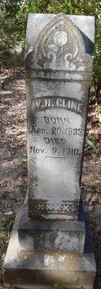 CLINE, W H - Morris County, Texas | W H CLINE - Texas Gravestone Photos