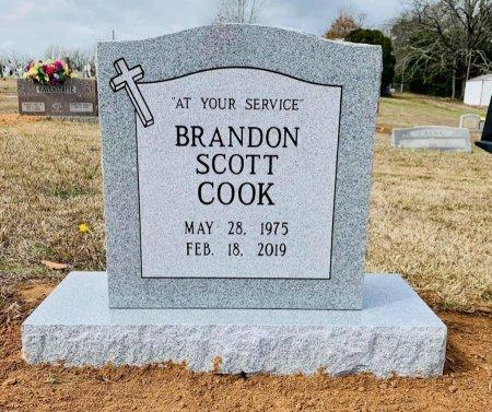 COOK, BRANDON SCOTT - Morris County, Texas | BRANDON SCOTT COOK - Texas Gravestone Photos