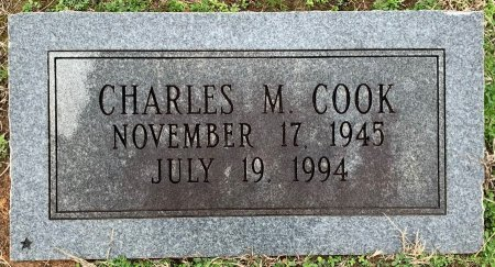 COOK, CHARLES M - Morris County, Texas | CHARLES M COOK - Texas Gravestone Photos