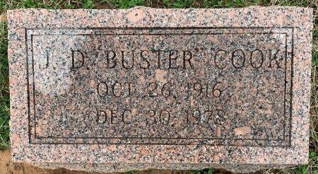 "COOK, J D ""BUSTER"" - Morris County, Texas | J D ""BUSTER"" COOK - Texas Gravestone Photos"