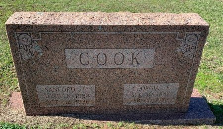 COOK, GEORGIA - Morris County, Texas | GEORGIA COOK - Texas Gravestone Photos