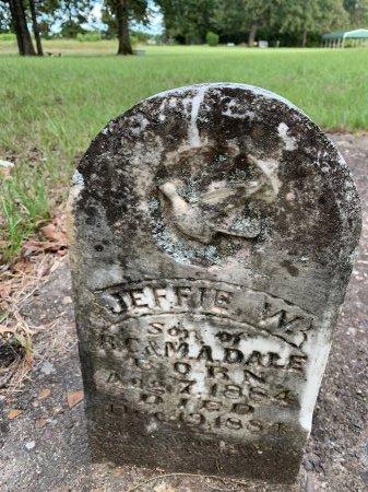 DALE, JEFFIE W - Morris County, Texas | JEFFIE W DALE - Texas Gravestone Photos