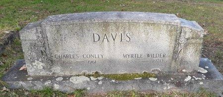DAVIS, CHARLES CONLEY - Morris County, Texas   CHARLES CONLEY DAVIS - Texas Gravestone Photos
