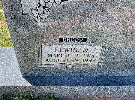 DERRICK, LEWIS N (CLOSE UP) - Morris County, Texas | LEWIS N (CLOSE UP) DERRICK - Texas Gravestone Photos