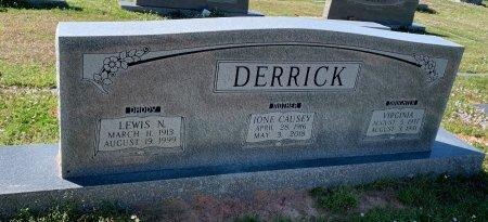 DERRICK, VIRGINIA - Morris County, Texas | VIRGINIA DERRICK - Texas Gravestone Photos