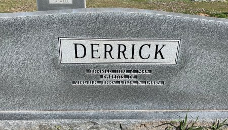CAUSEY DERRICK, IONE ( BACK VIEW) - Morris County, Texas | IONE ( BACK VIEW) CAUSEY DERRICK - Texas Gravestone Photos