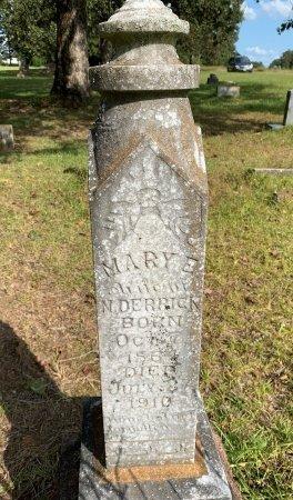 ASHBURN DERRICK, MARY E - Morris County, Texas   MARY E ASHBURN DERRICK - Texas Gravestone Photos