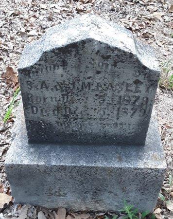 EASLEY, INFANT SON - Morris County, Texas | INFANT SON EASLEY - Texas Gravestone Photos