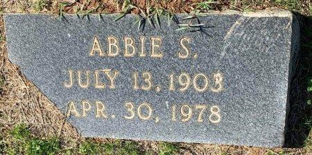 FREEMAN, ABBIE S (CLOSEUP) - Morris County, Texas | ABBIE S (CLOSEUP) FREEMAN - Texas Gravestone Photos